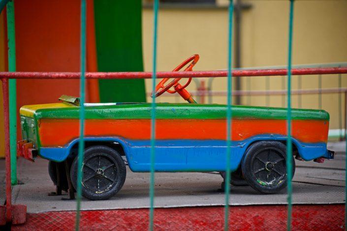 Apleistos Kauno karuselės