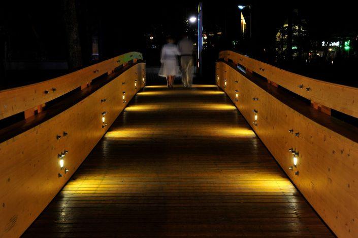 Dviese naktinėje Palangoje