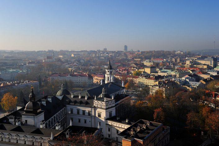 Rudeninės Vilniaus spalvos