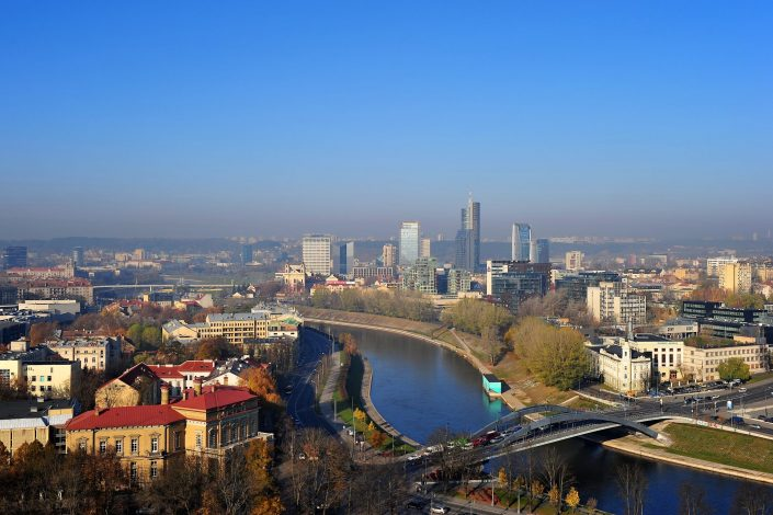 Vilnius nuo Gedimino bokšto