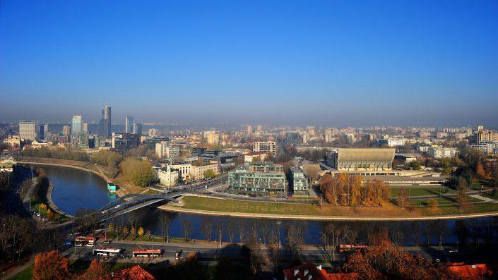 Vilnius nuo Gedimino kalno