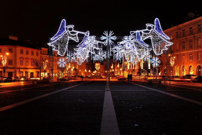 Kalėdos Rotušės aikštėje