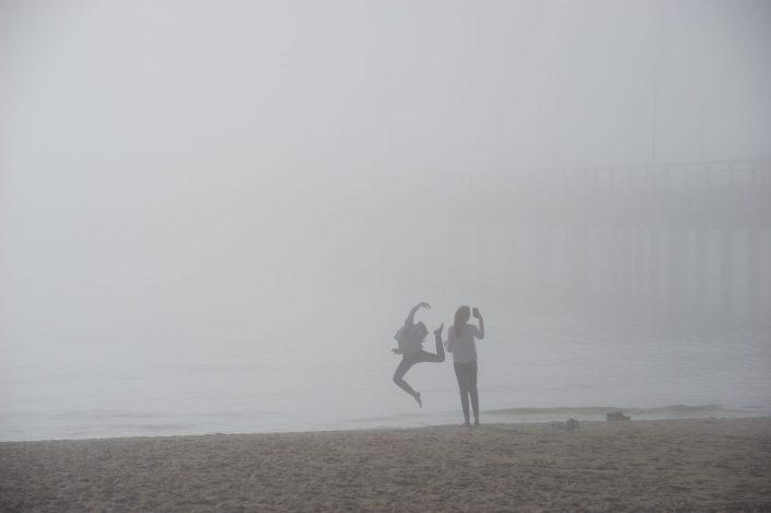 Rūkas prie jūros