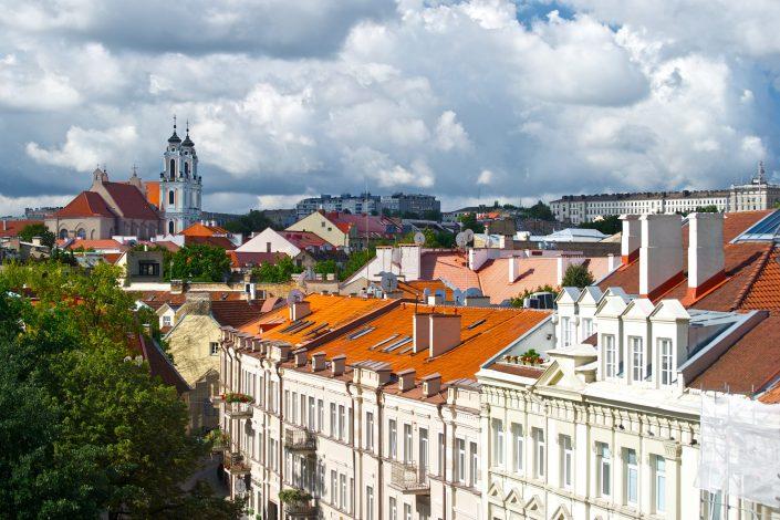 Vilnius nuo stogų