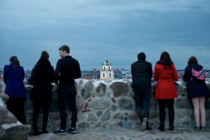 Šv. Jonų bokštas nuo Gedimino kalno