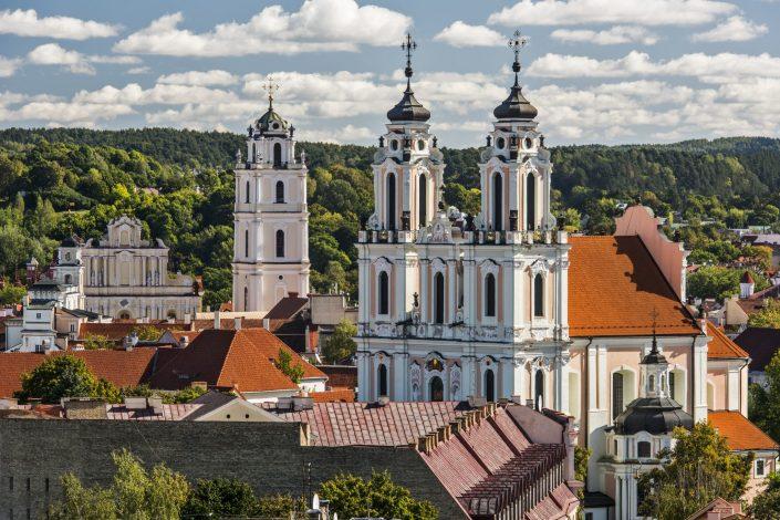 Vilniaus bažnyčių bokštai